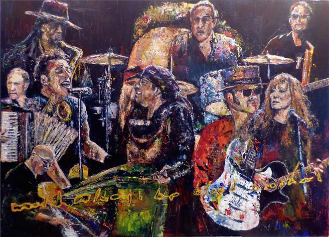 Musician III Bruce Springsteen and The E-Street Band
